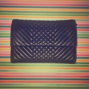 Vince Camuto Clutch with Gold Chain Strap Option